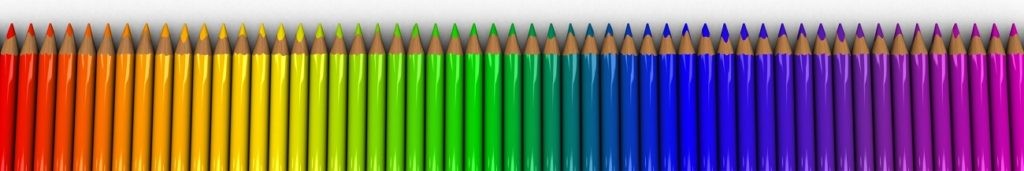cores diferentes